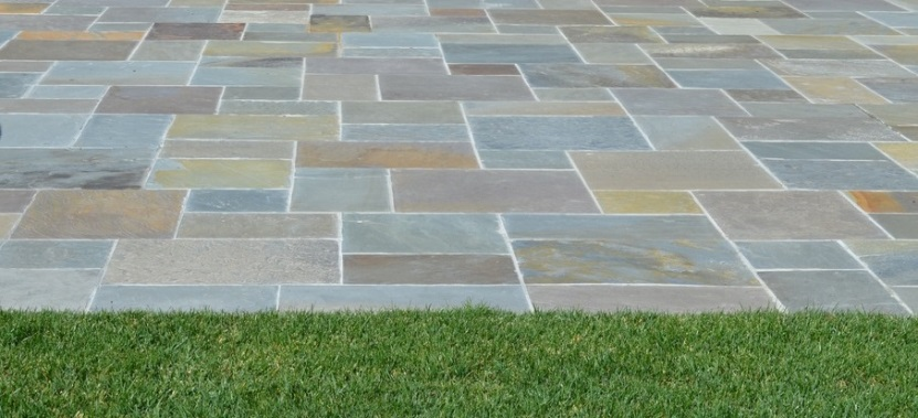 Selecting bluestone terra ferma landscapes for Bluestone pricing