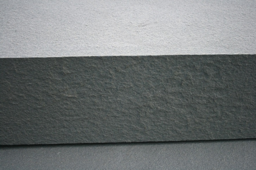 Select Blue thermal finish bluestone close up