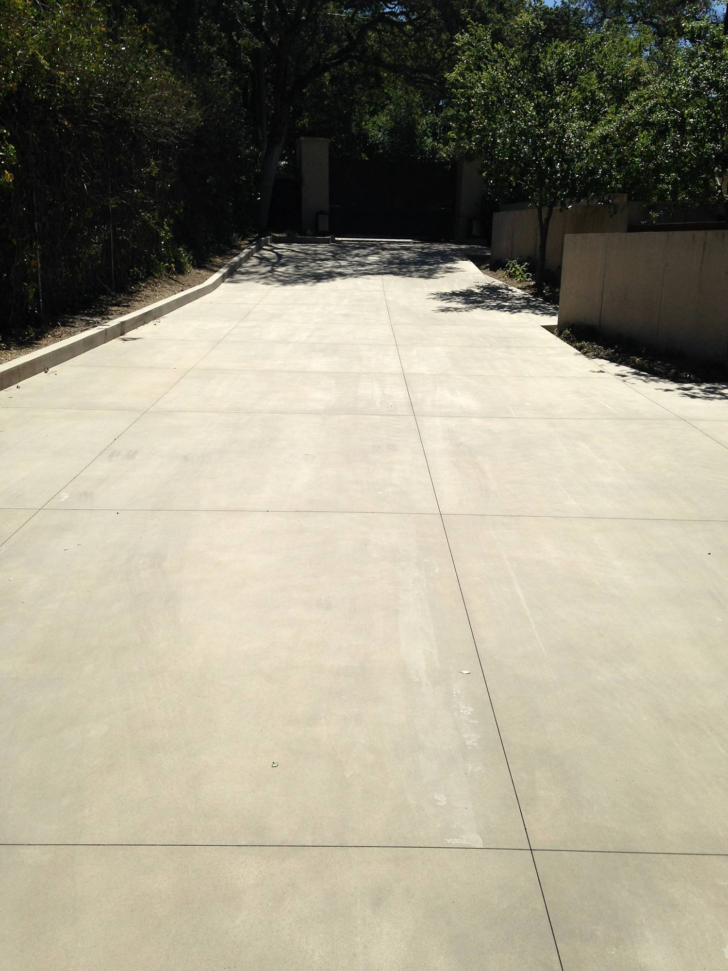 Concrete finishes terra ferma landscapes for Acid wash concrete patio