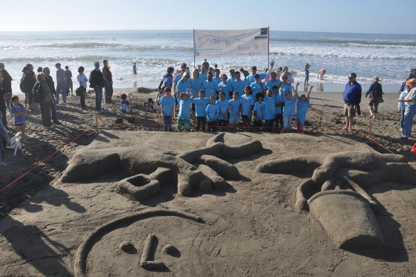 Leap Sandcastle Contest
