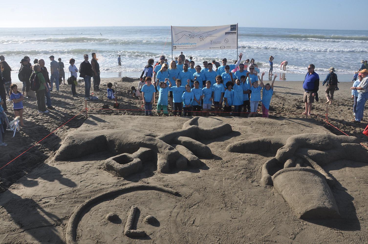 Leap Sandcastle Contest