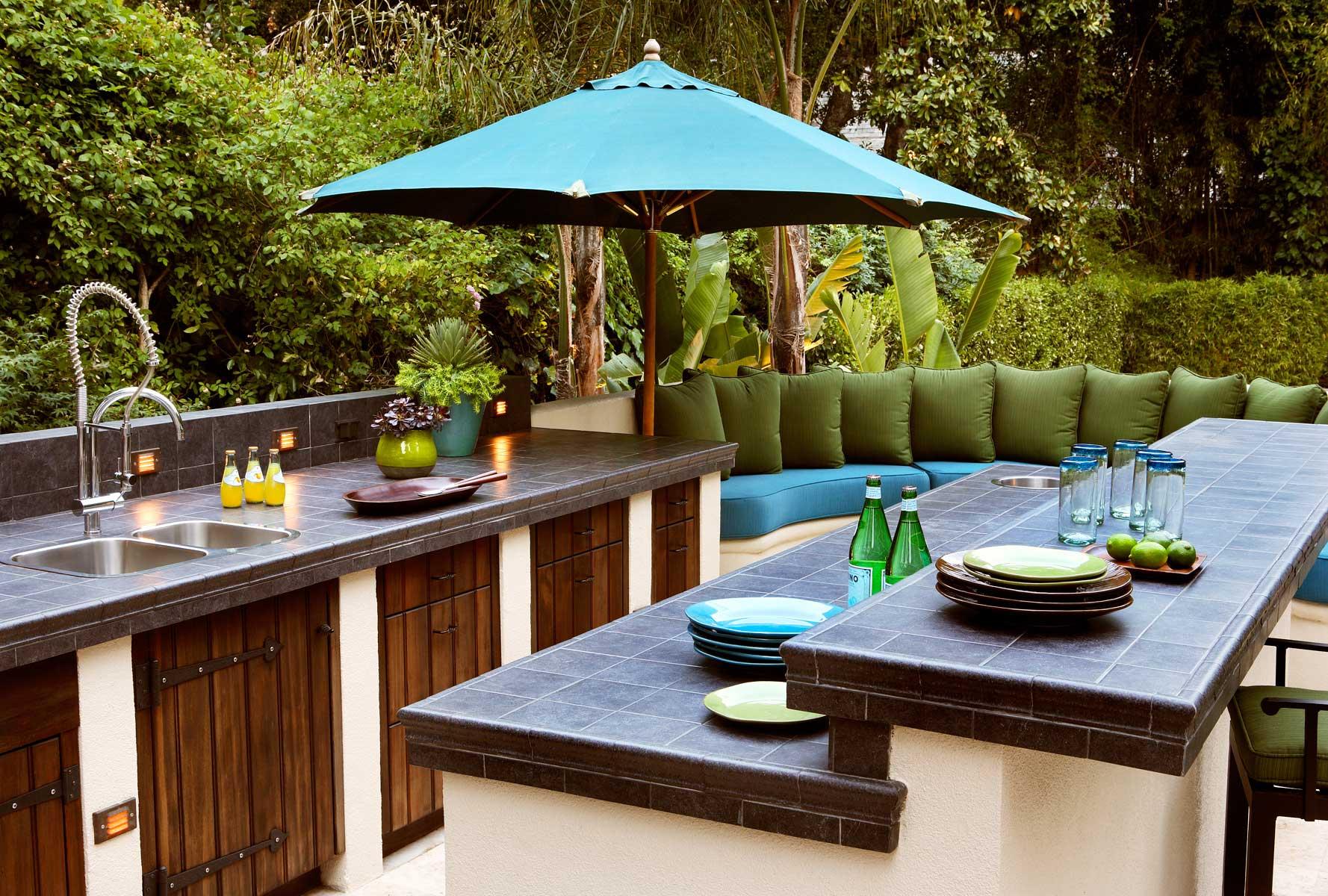 Plein Air Cooking Designing Your Outdoor Kitchen